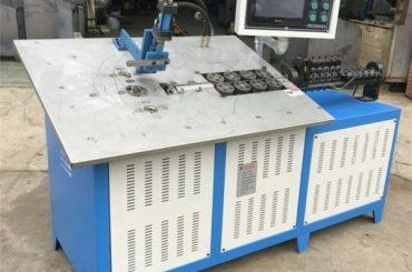 חם אוטומטי תלת מימד תיל פלדה להרכיב מכונה cnc, חוט 2D כיפוף המכונה מחיר
