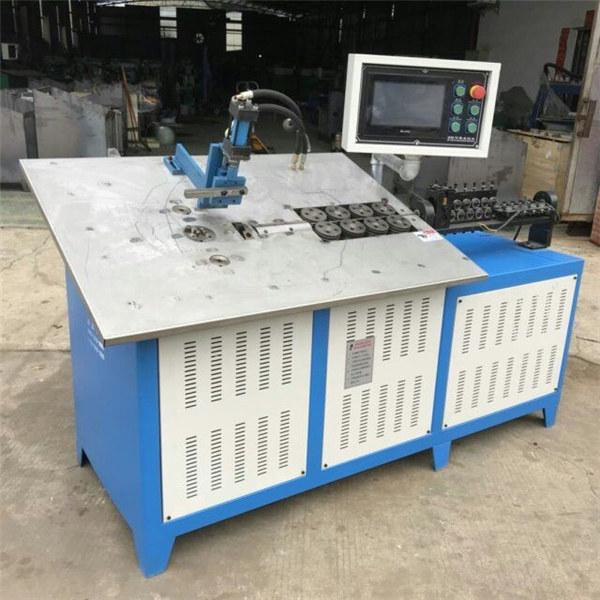 חם אוטומטי תלת מימד תיל פלדה להרכיב מכונה cnc חוט 2D כיפוף המכונה מחיר