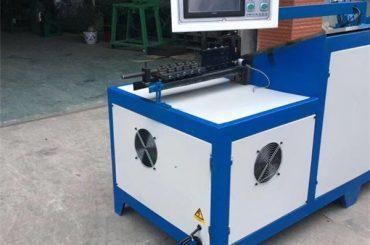 6mm חוט פלדה מתלה כיפוף מכונת אוניברסלי נירוסטה סל בנדר חוט בנדר